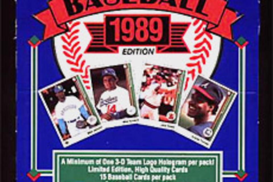 1989 Upper Deck Baseball Wax Box