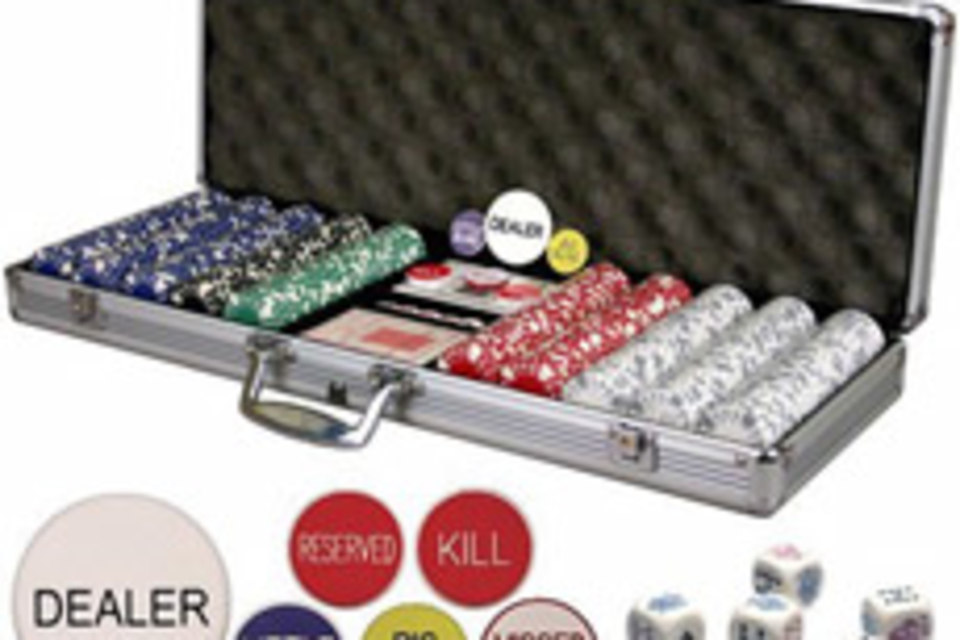Premium 500 Chip Poker Set