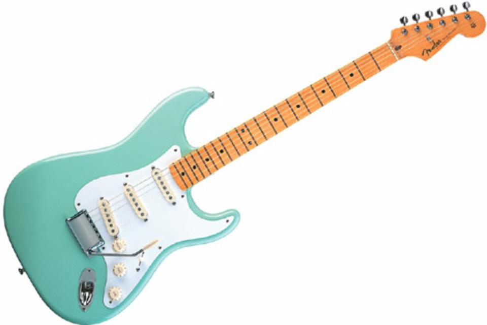 Surf Green Fender Classic 50's Stratocaster