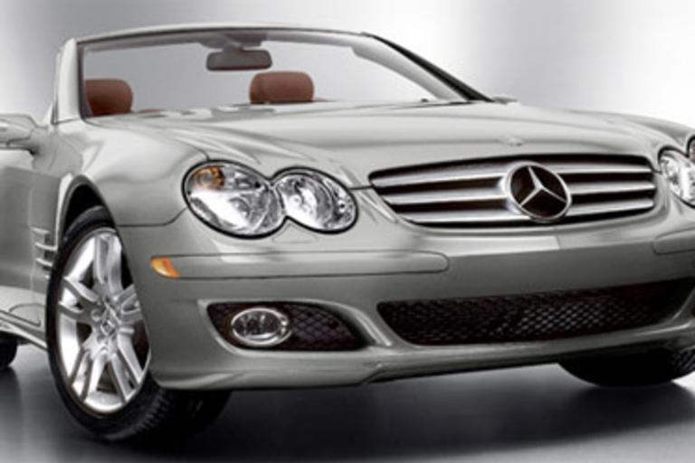 50th Anniversary Mercedes Benz SL550