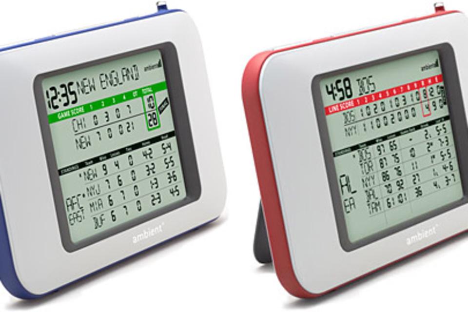 Ambient ScoreCast Devices