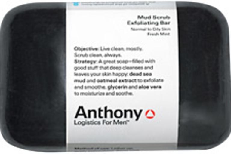 Anthony Logistics Mud Scrub Exfoliating Bar