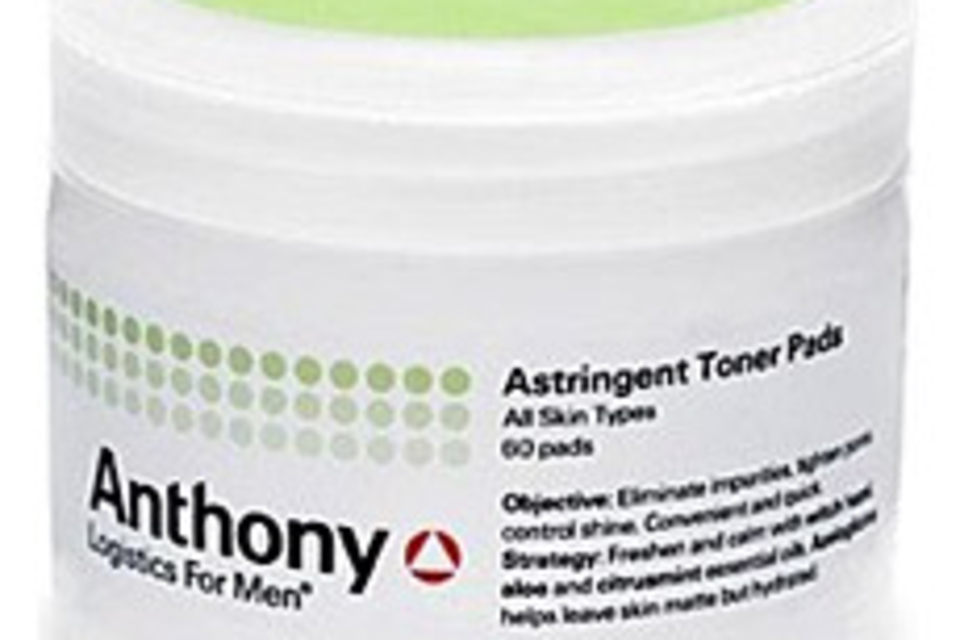 Anthony Logistics Astringent Toner Pads