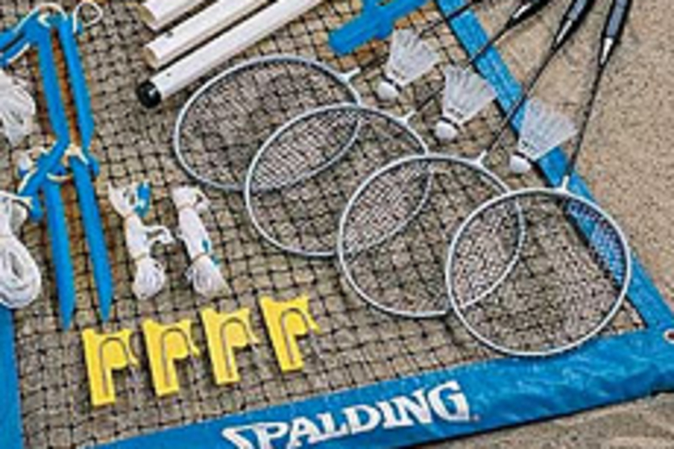 Spalding World Pro Badminton Set