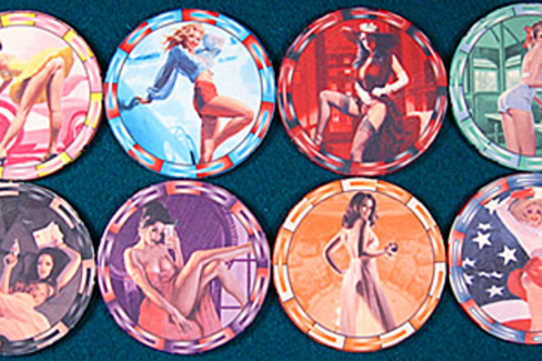 American Beauties Poker Chips