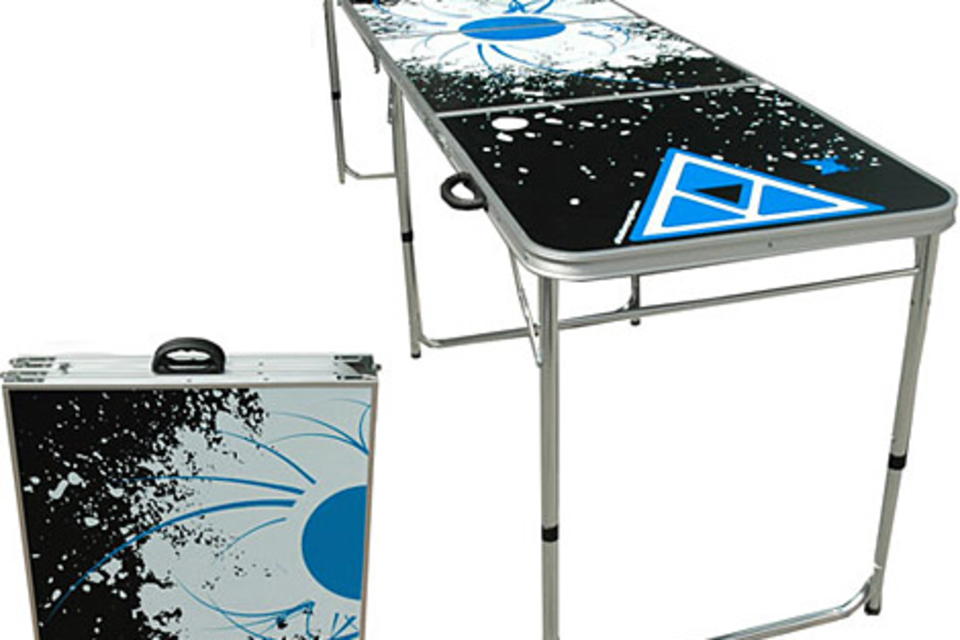 Official beer pong table uncrate - Professional beer pong table ...