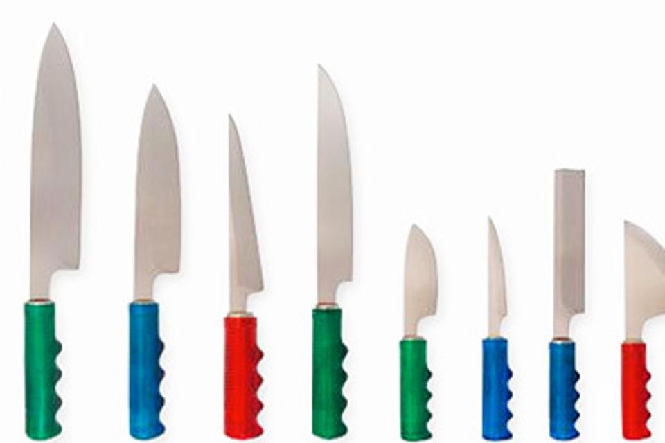 Bike Handle Knives