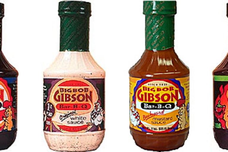 Big Bob Gibson BBQ Sauces