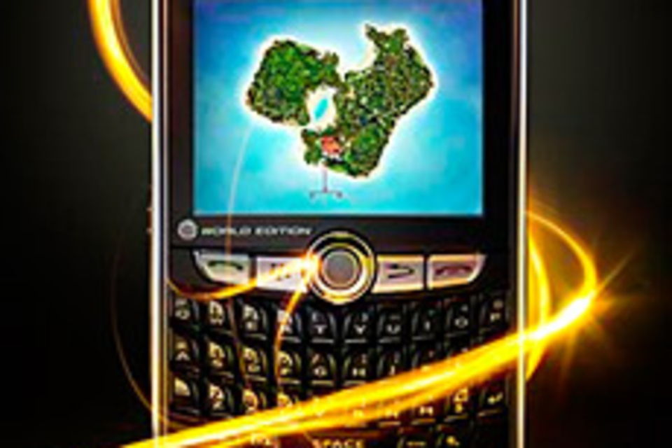 Sprint BlackBerry 8830 World Edition Smartphone