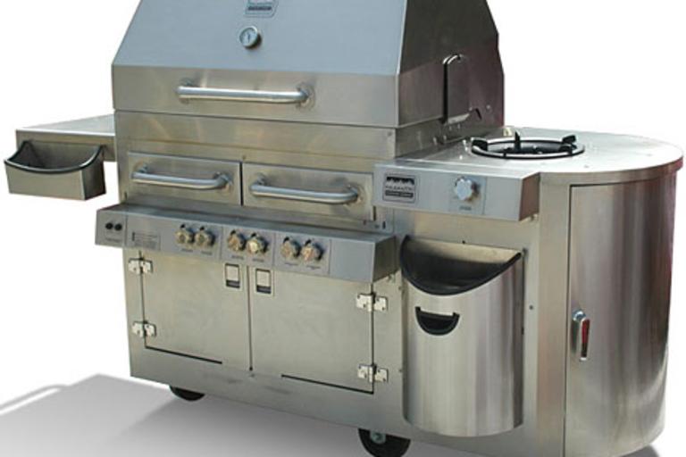 Bread Breaker Dual-Fuel Hybrid Grill