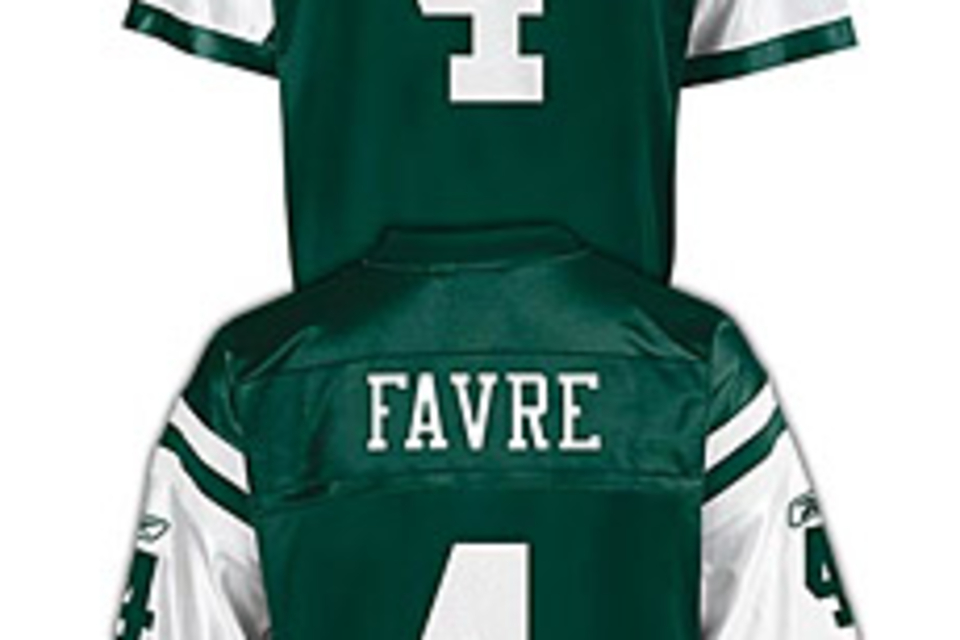 New York Jets Brett Favre Jersey