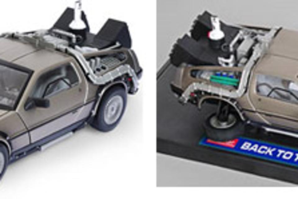 Back to the Future Die-Cast DeLorean