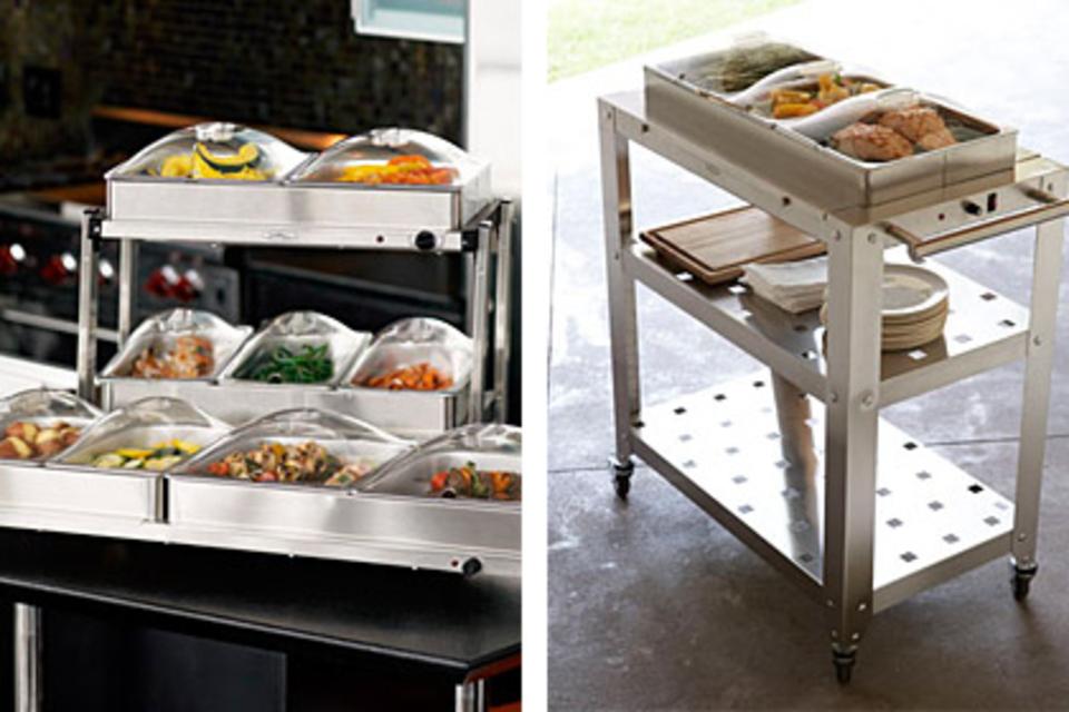 Buffet Servers & Cart