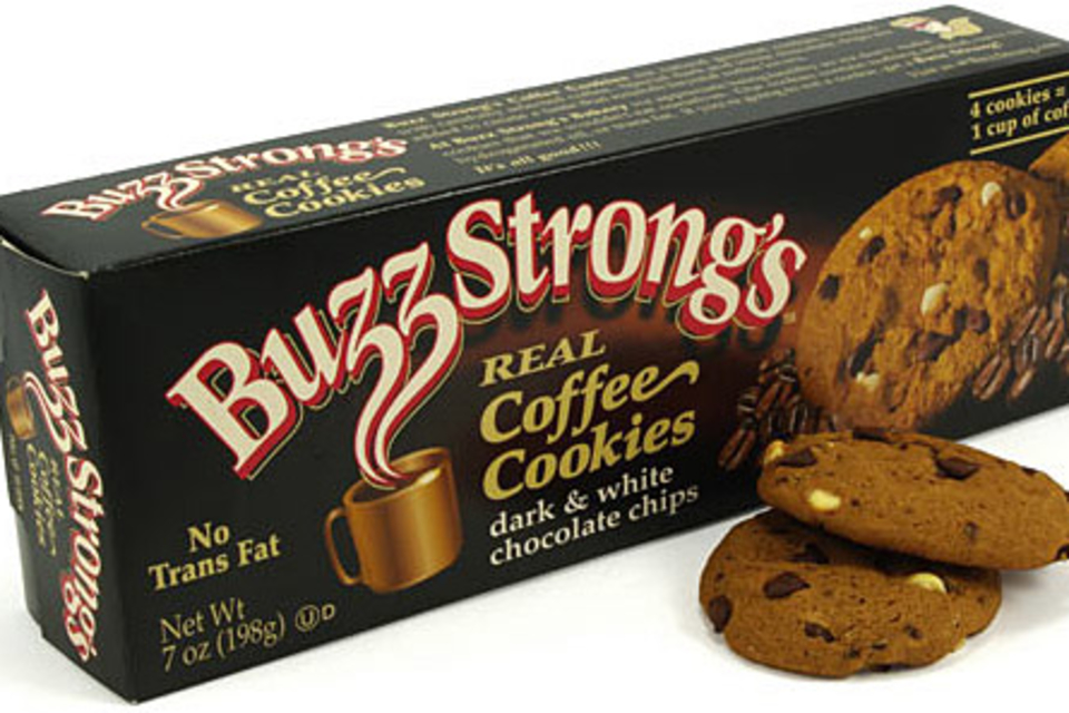Buzz Strong's Caffeinated Cookies