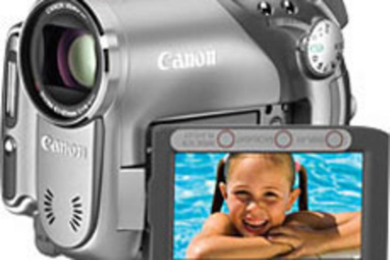 Canon DC40 Widescreen Camcorder