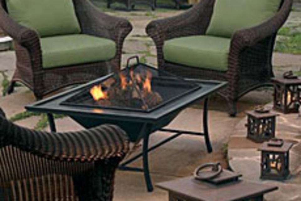 Carmel Firepit/Coffee Table