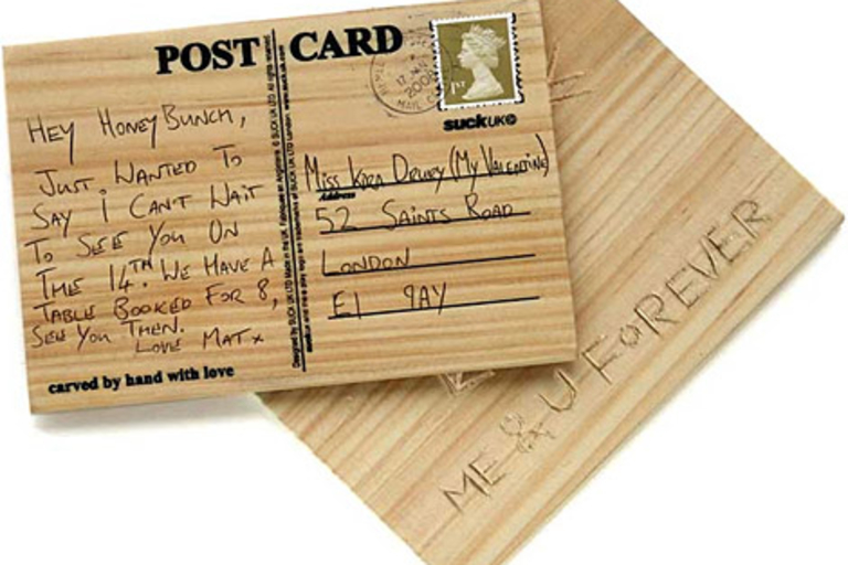 Carve Your Own Post Cards