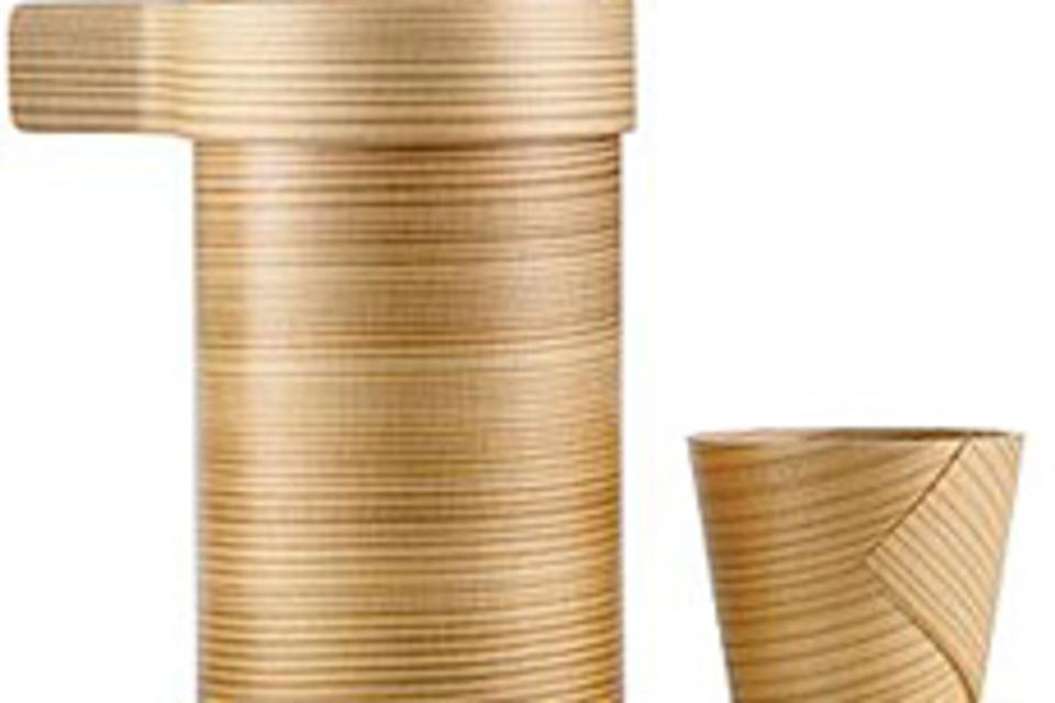 Cedar Sake Vessel