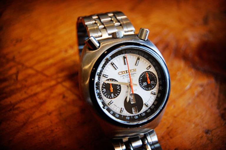 Citizen Bullhead Chronograph Watch