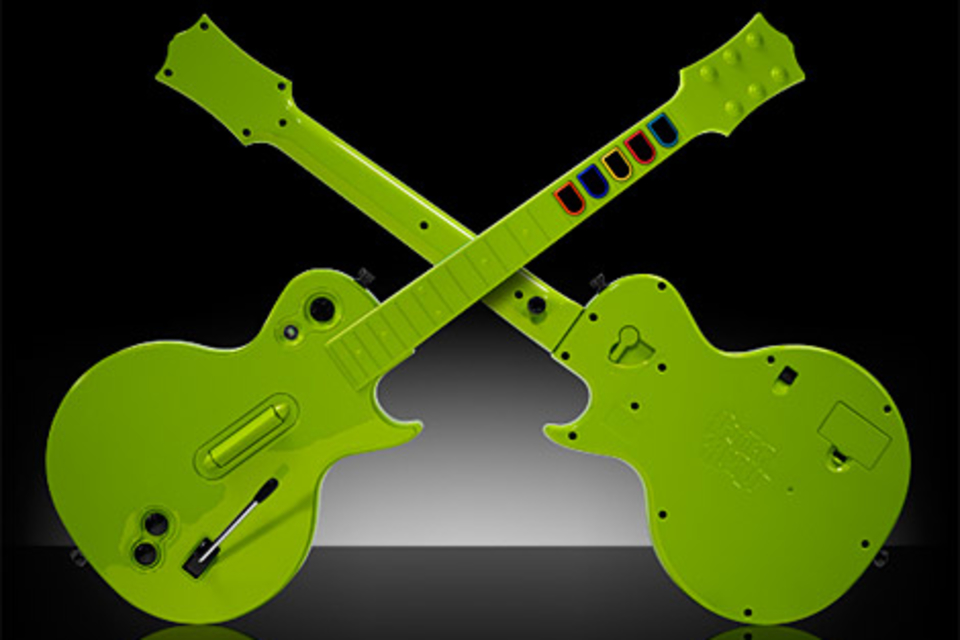 Colorware Guitar Hero Guitars