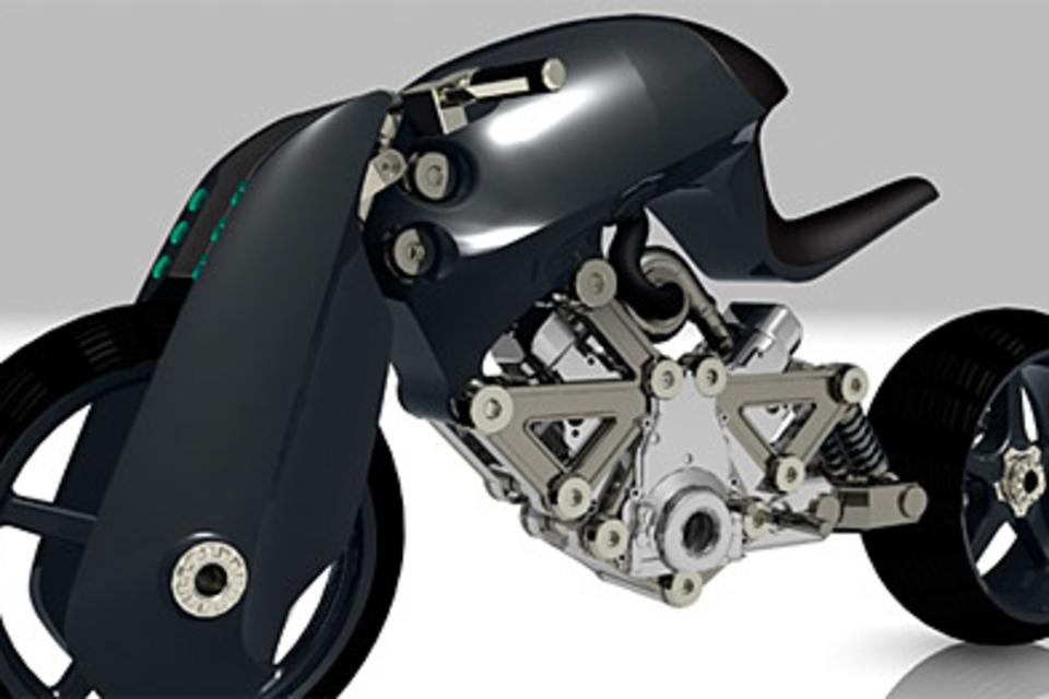 Confederate Renovatio Concept Motorcycle