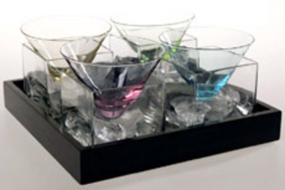 Cube Martini Set
