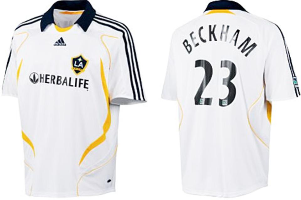 David Beckham LA Galaxy Jersey