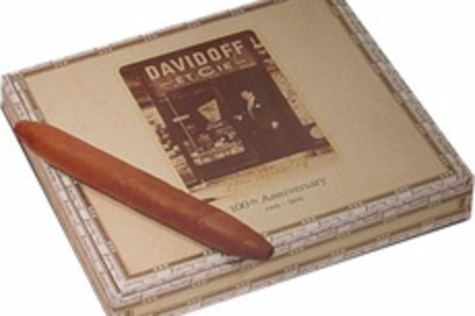 Davidoff 100th Anniversary Cigars