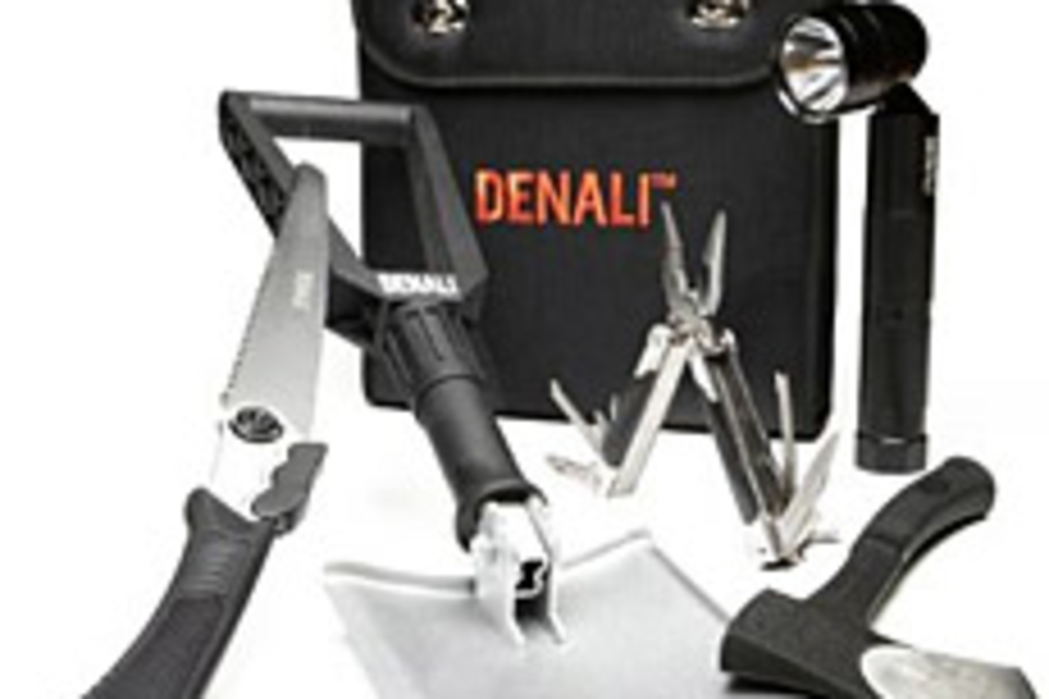 Denali 5-Piece Outdoor Utility and Emergency Kit