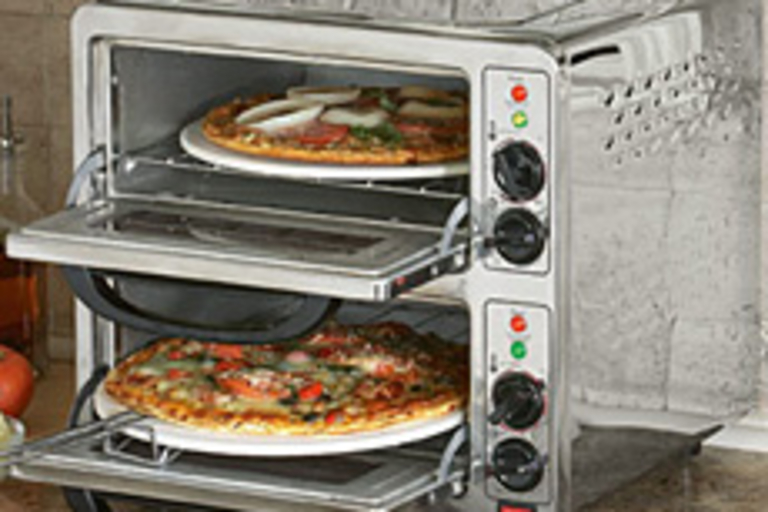 Double-Deck Pizza Oven
