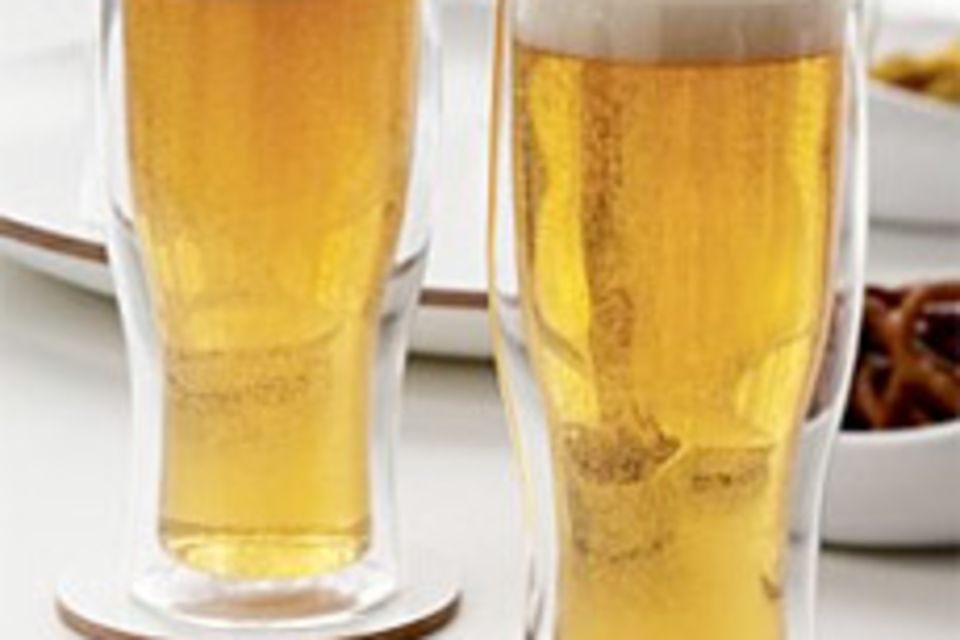 Double-Walled Beer Glasses