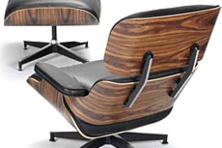 50th Anniversary Eames Lounge Chair & Ottoman