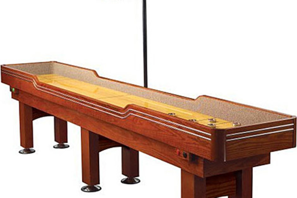 Electronic Delaware Tournament Shuffleboard Table
