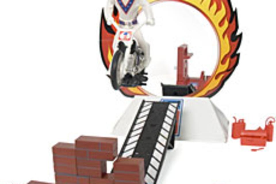 Evel Knievel Super Stunt Set