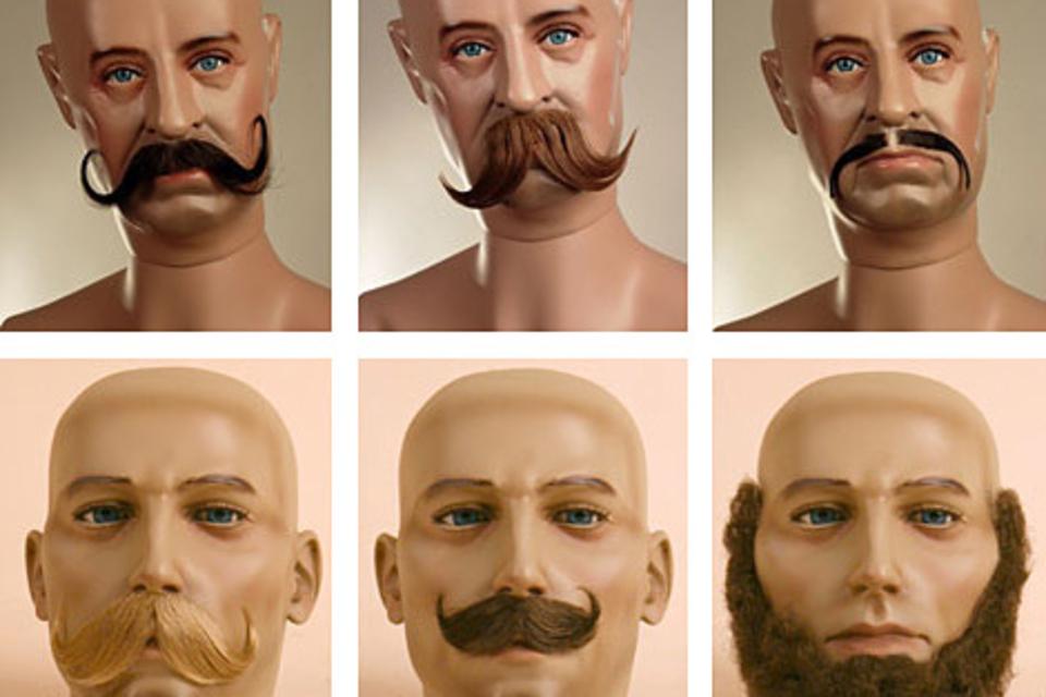 Fake Moustaches & Beards