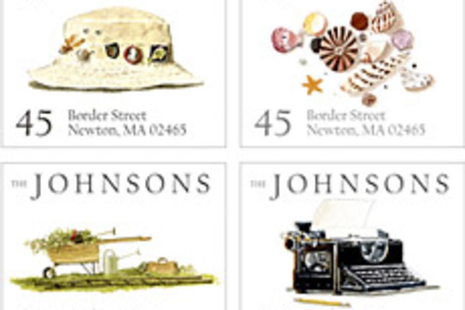 Felix Doolittle Personalized Address Stamps