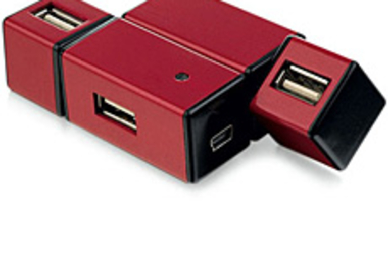 Foldable USB 2.0 Hub