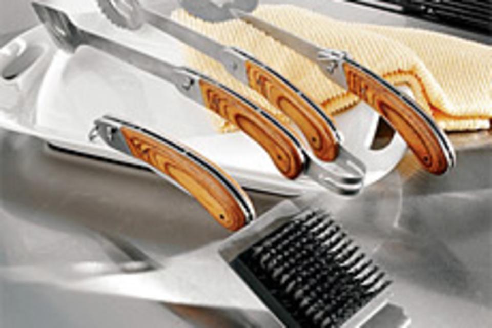 Folding Grill Tools