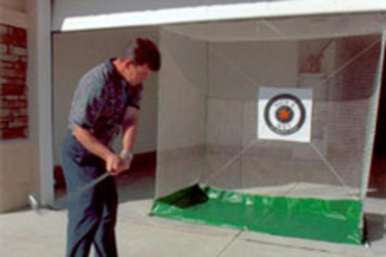 Garage Door Golf Practice Net