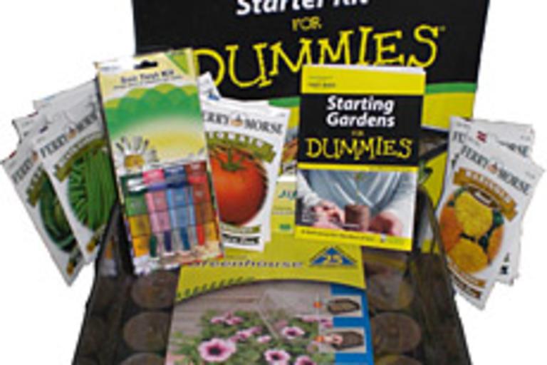 Gardening for Dummies Veggie Kit