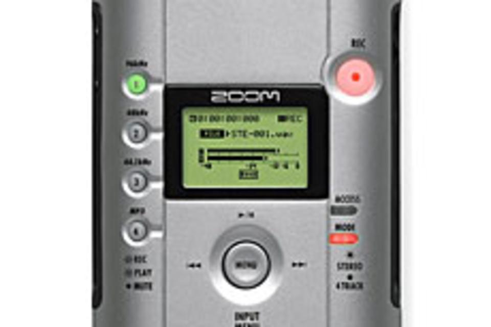 H4 Digital Audio Recorder