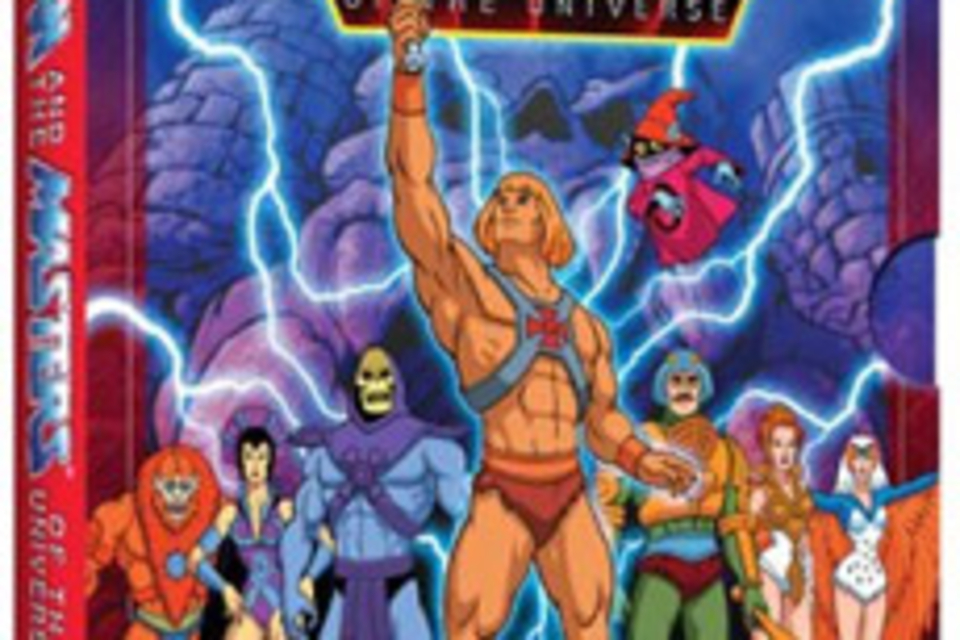 He-Man and the Masters of the Universe DVD