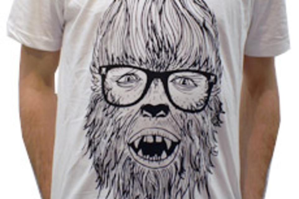 Hipster Werewolf T-Shirt