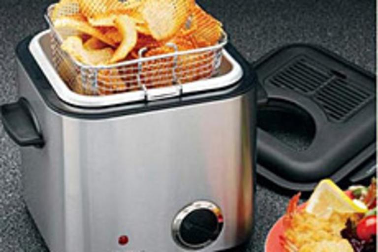 Snack-Size Deep Fryer