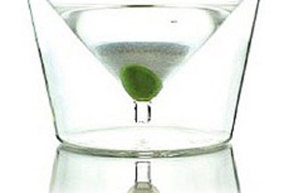 InsideOut Martini Glass Set