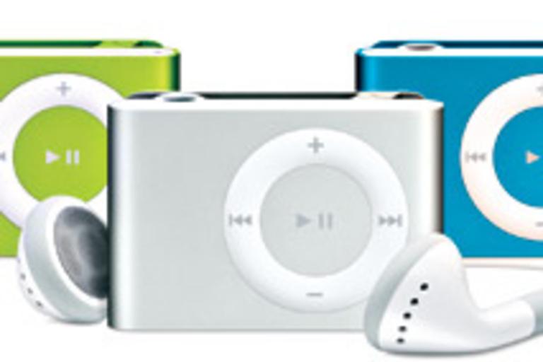 Colored iPod Shuffle