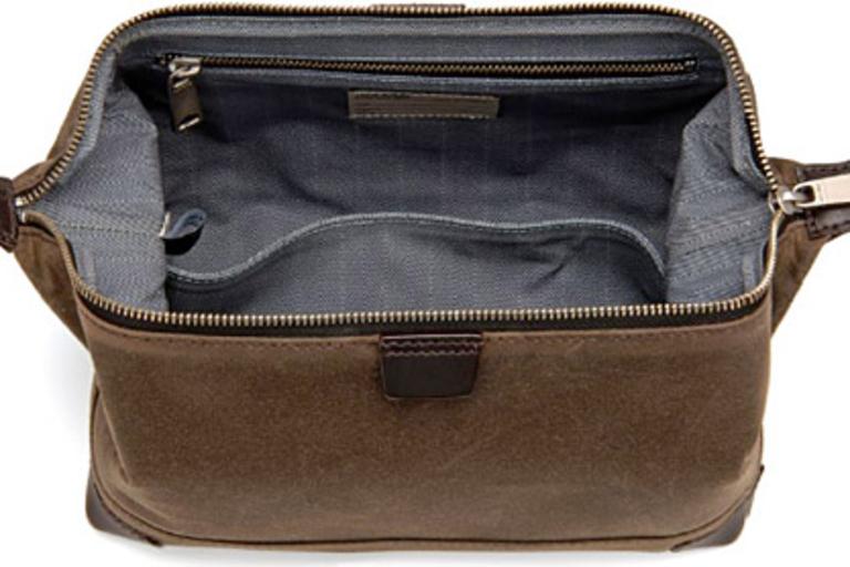 Jack Spade Waxwear Travel Kit