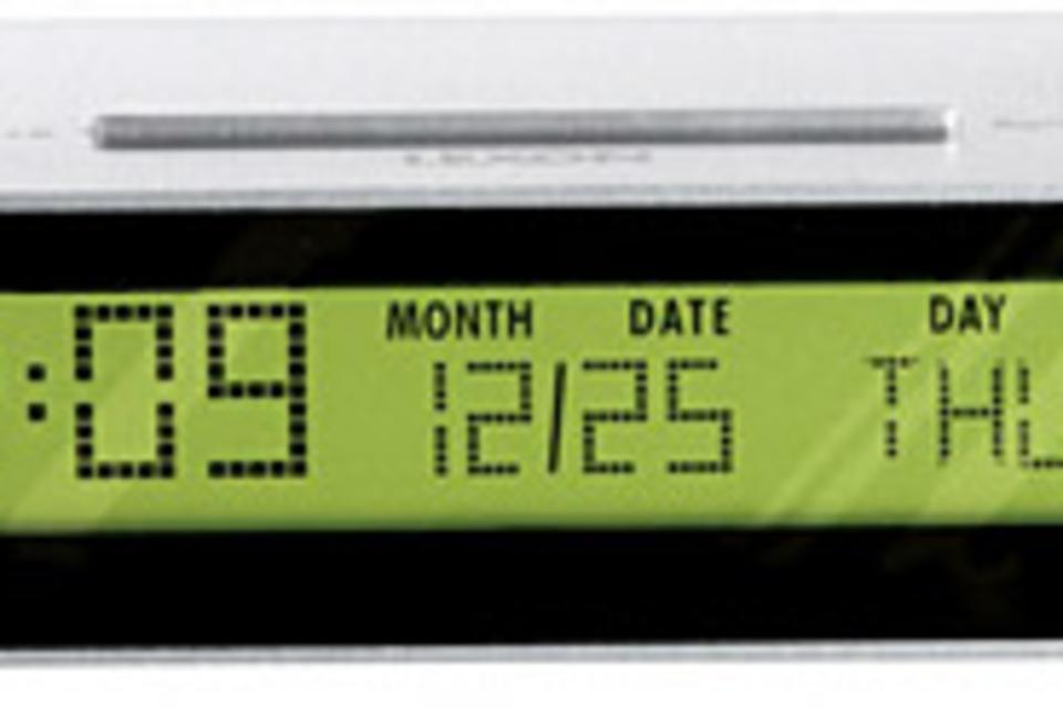 Lexon Jet Clock