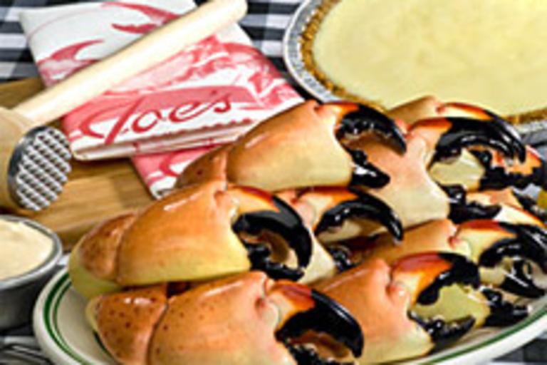 Joe's Stone Crab Dinner