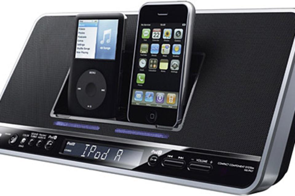 JVC Dual iPod Docking Station